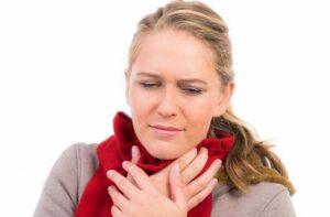 если болит горло