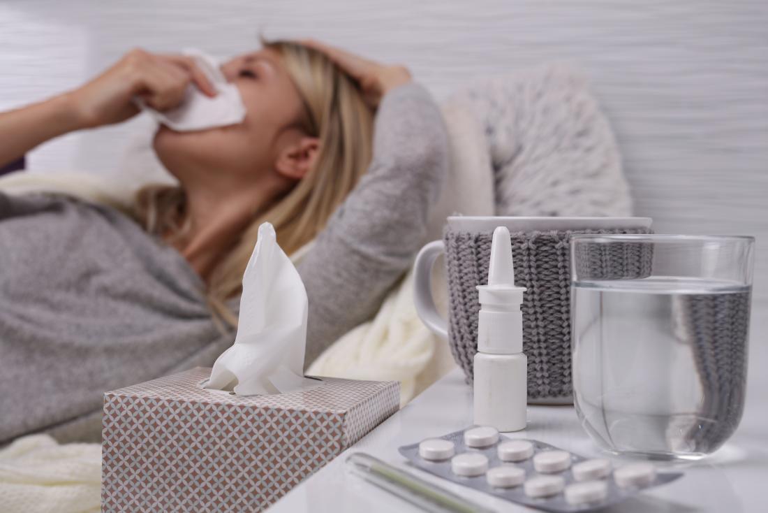 перехватить простуду