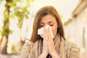аллергический насморк в сезон цветения