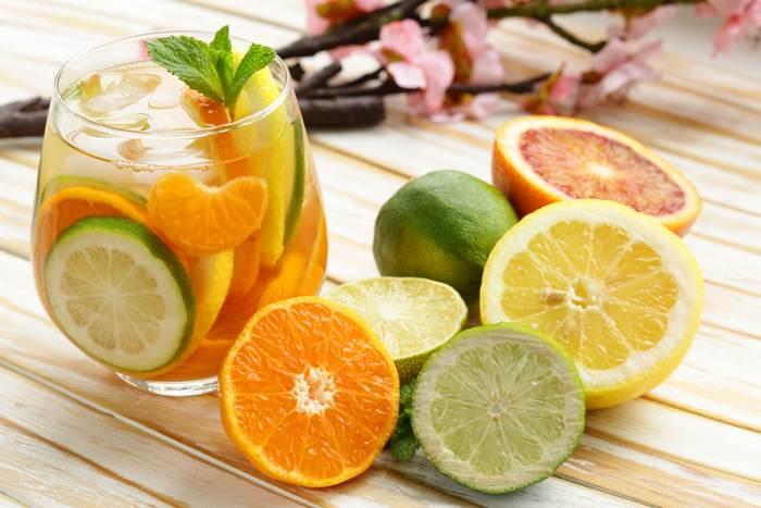 лимон и цитрусовые фрукты