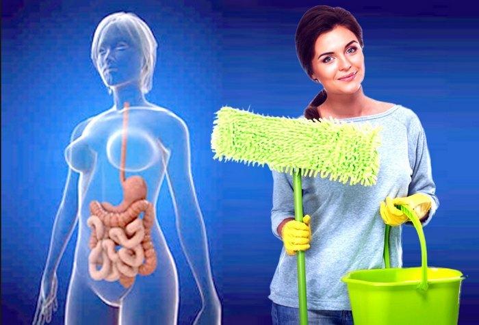 чистим организм от зашлакованности